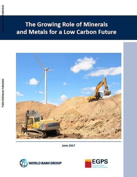 Banco Mundial Mineria